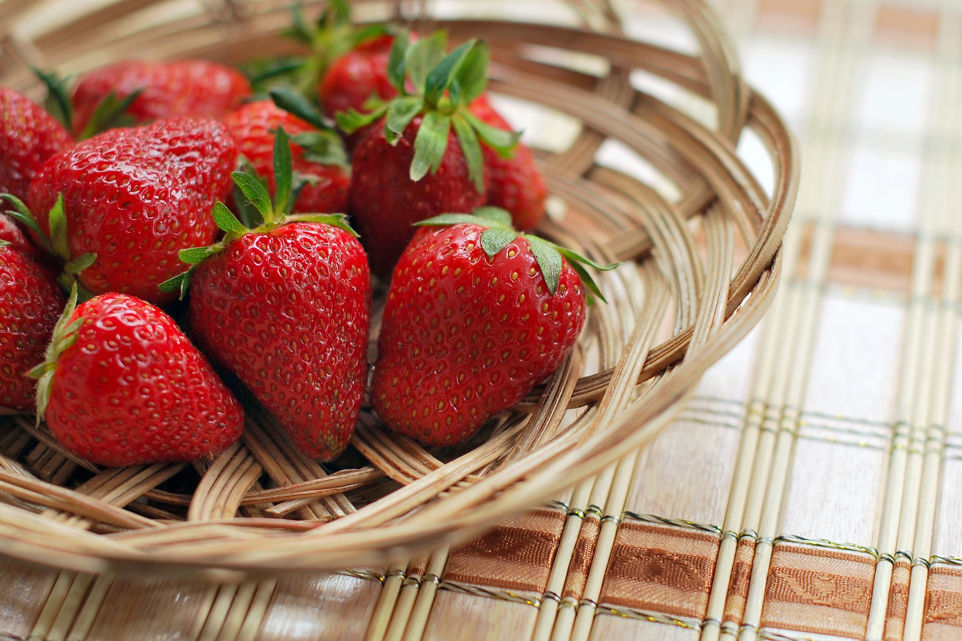 fresas mes abril