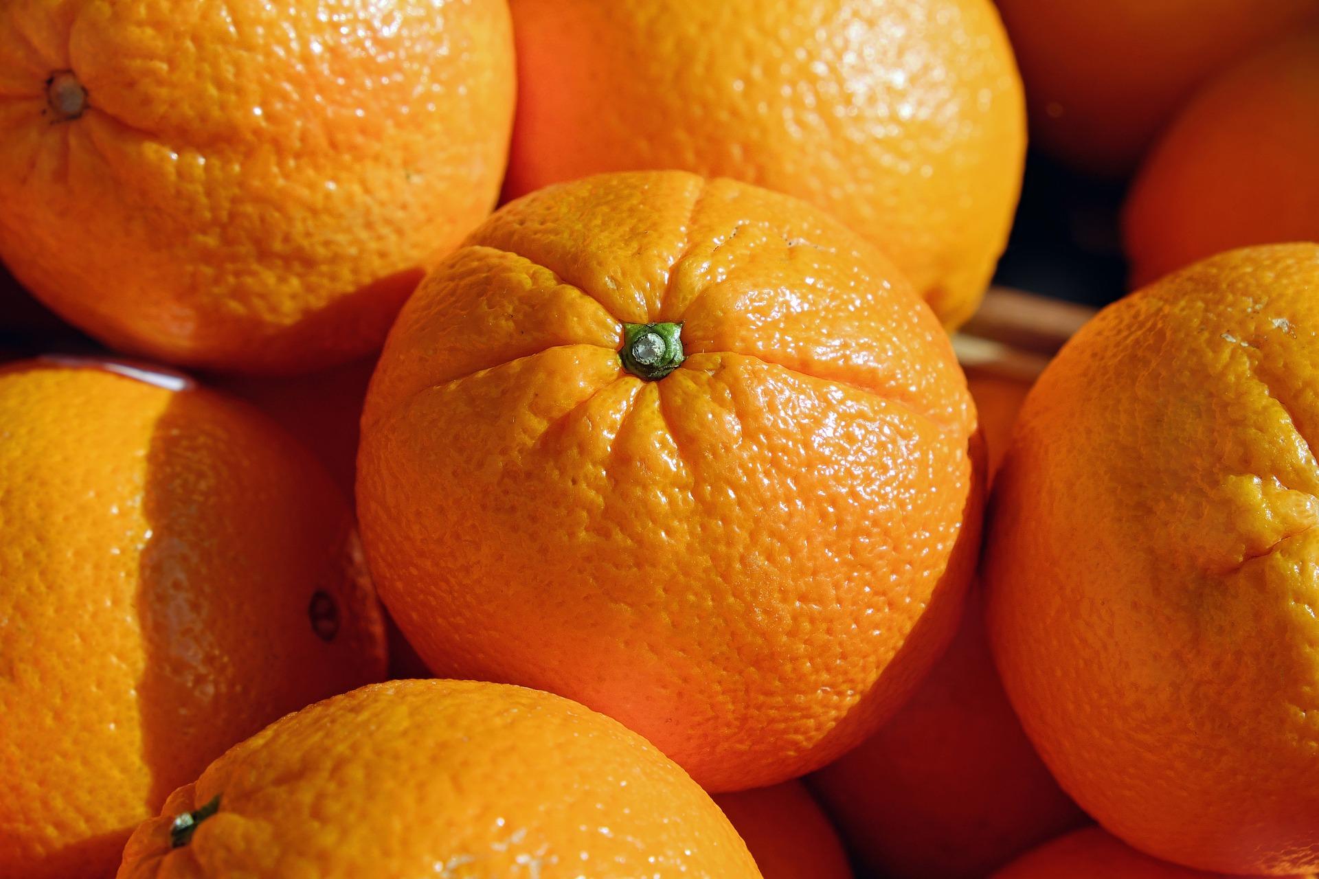 naranjas mes de abril